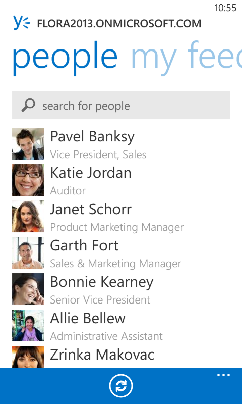 Office 365 SharePoint Collaboration Social