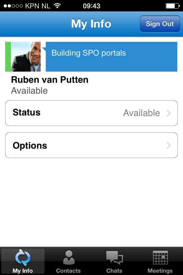 SharePoint Office 365 collaboration with Lync