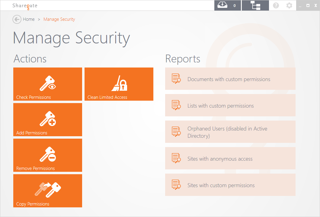 SharePoint Security Management
