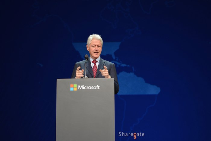 SharePoint Bill Clinton