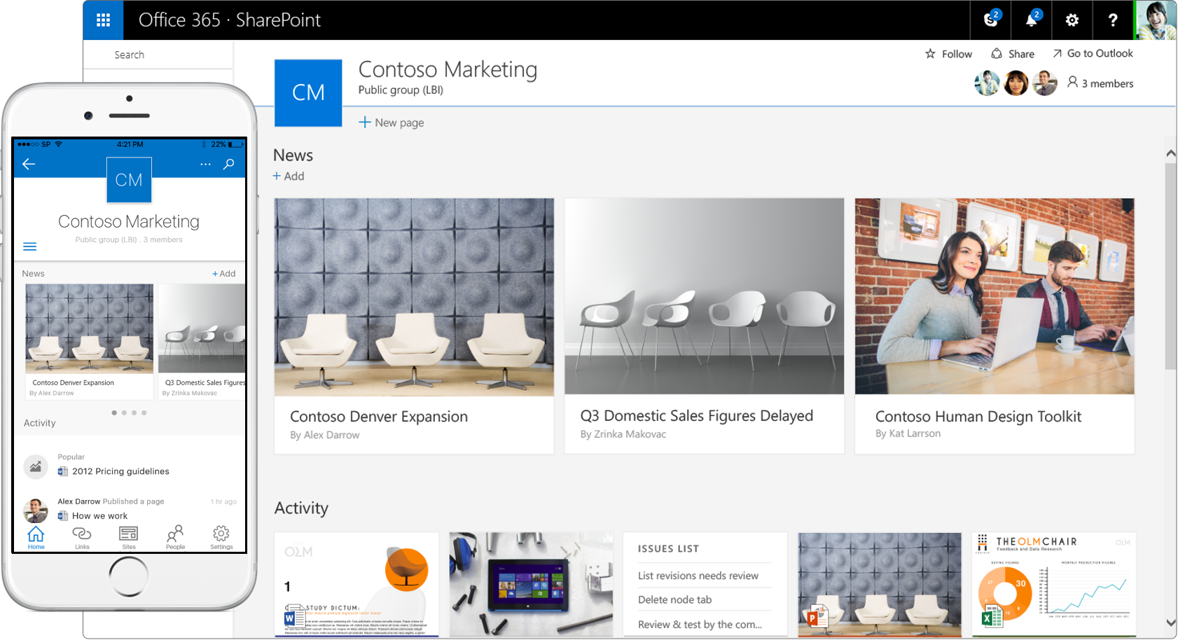 SharePoint Mobile Apps
