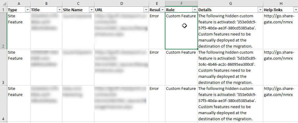 Custom SharePoint Features Export