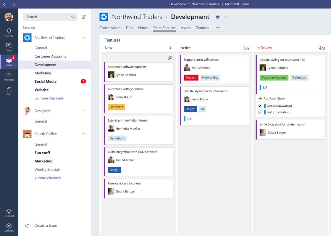 Planner in Microsoft Teams