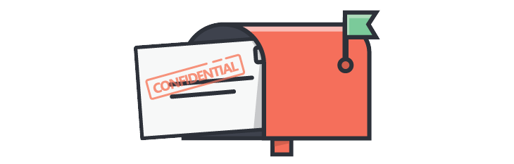 Sending confidential documents to personal emails can put your data at risk