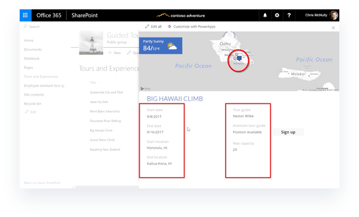 SharePoint PowerApps side panel in SharePoint