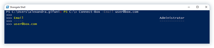 Box Migration with PowerShell
