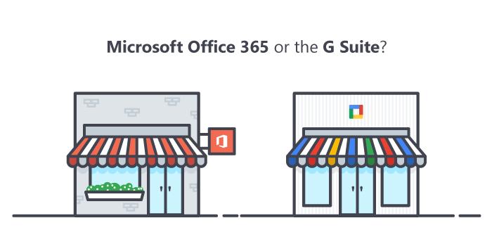 Microsoft Office 365 vs. G Suite
