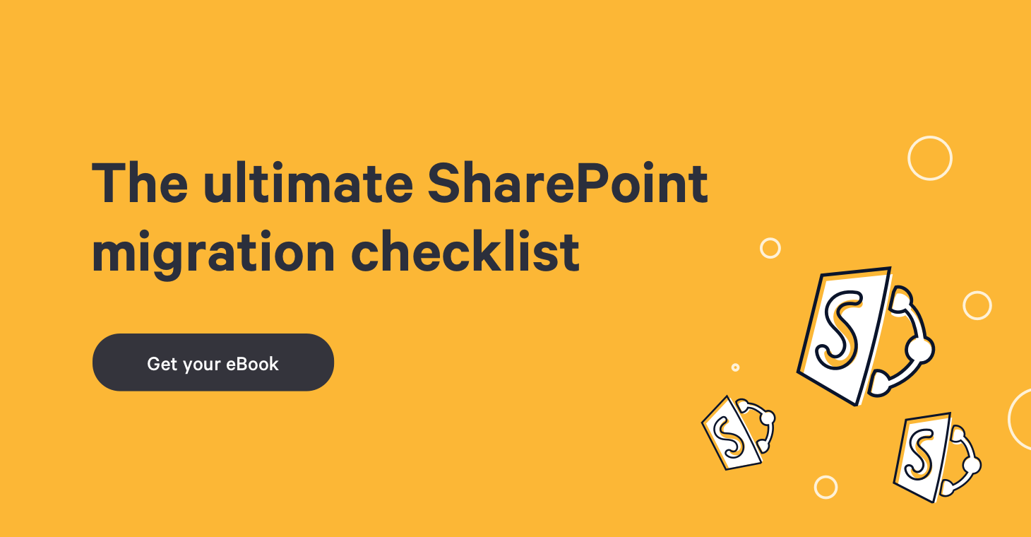 The ultimate SharePoint migration checklist