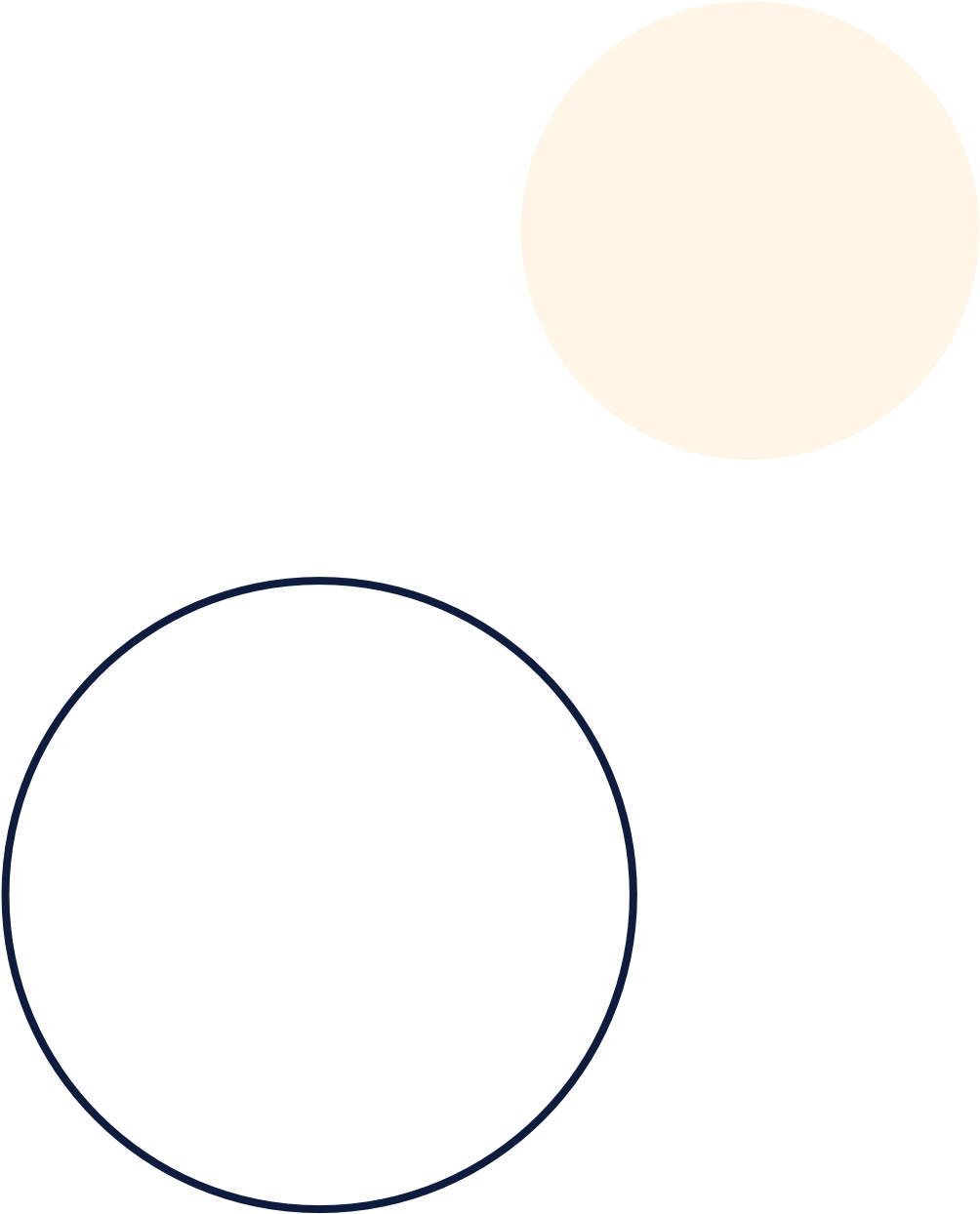 Background image of two circles.