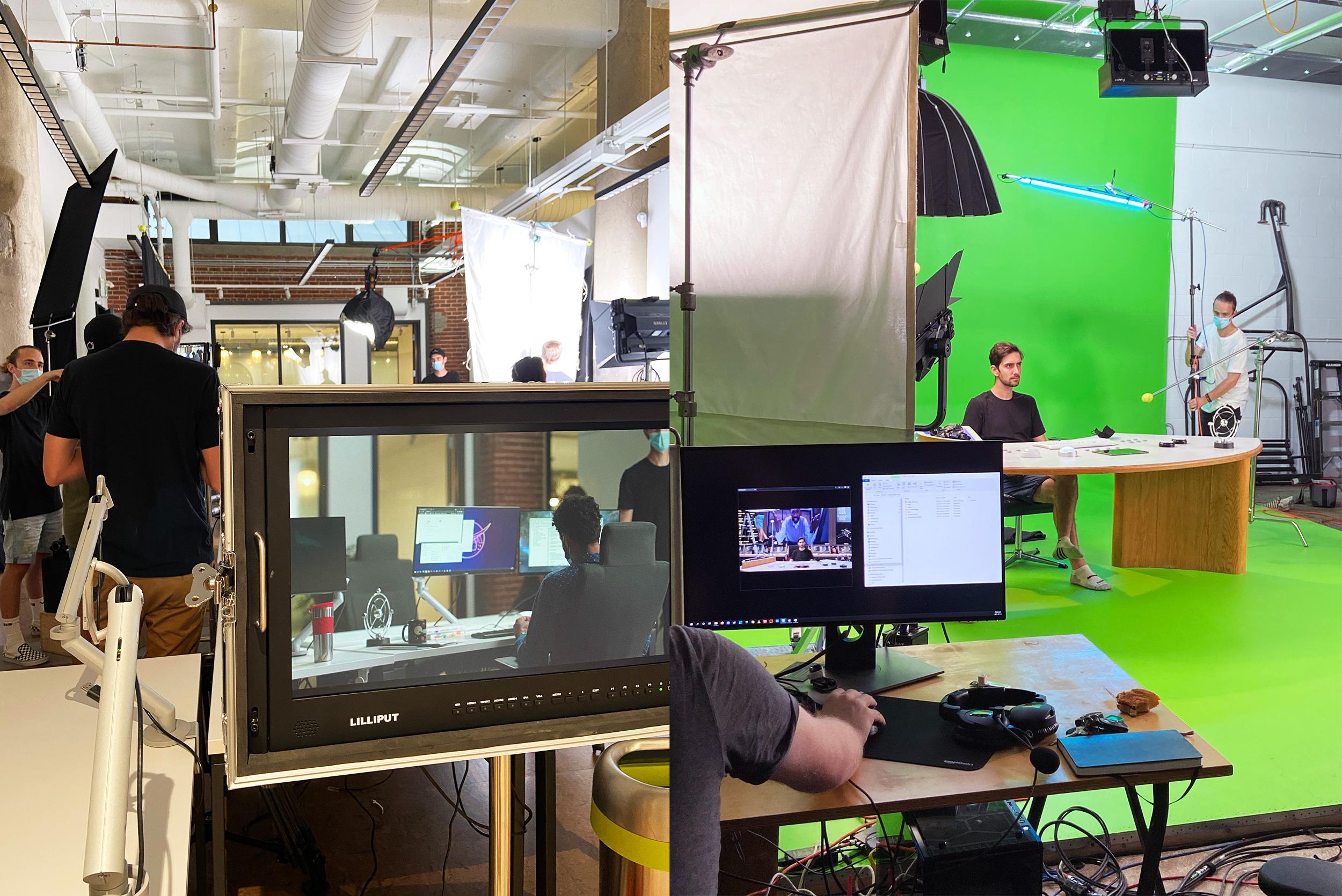 Behind The Scene Tournage